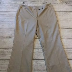 White House /Black Market tan trousrs
